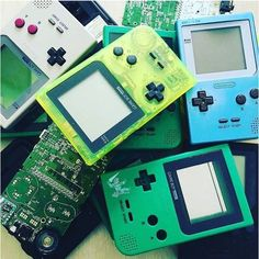 Gameboy pocket mods with
