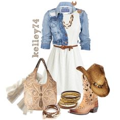 """Cowgirl Up"" by kelley74 on Polyvore"
