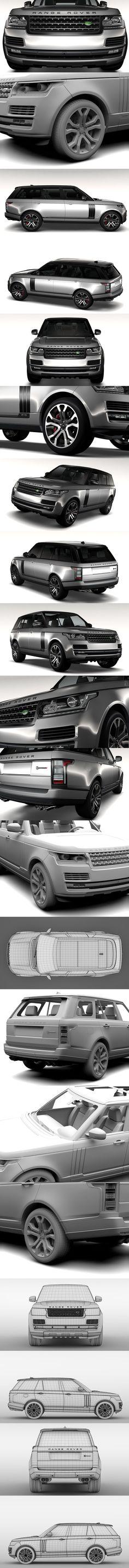 Range Rover SVAutobiography Dynamic. 3D Vehicles