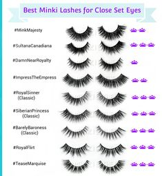 Use my expert style fit guide to help you choose the best lashes for hooded eyes. Loaded with hooded eyes tips and tricks that might shock you! False Eyelashes Tips, Best Fake Eyelashes, Best Lashes, Long Lashes, Mink Eyelashes, Hooded Eye Makeup, Hooded Eyes, Lip Wallpaper, Asian Eyes