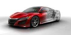 New, nerdy tech details on the Acura NSX  - RoadandTrack.com