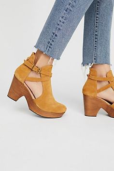 Cedar Clog from Free People!