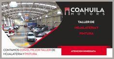 Contamos con el taller de Hojalateria y Pintura mas completo en Mexico