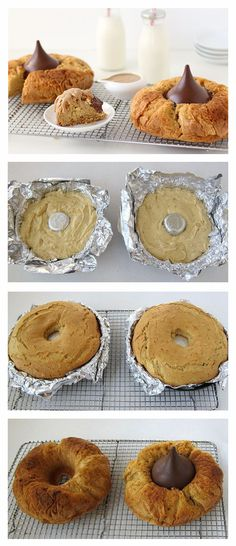 Everybody loves a classic peanut butter blossom cookie, but what happens when you turn it into a cake? Pure deliciousness.