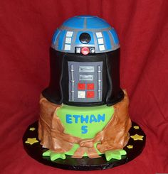 Star Wars Birthday Cake by Simply Sweet Creations