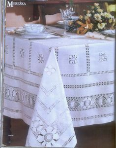 Drawn Thread, Jewelry Making, Embroidery, Quilts, Tableware, How To Make, Linens, Anna, Beautiful