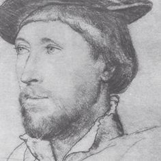 Sir Thomas le Strange by Hans Holbein and not Thomas Boleyn as I previously thought!