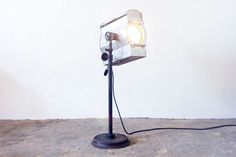 1930s Stage Light | From a unique collection of antique and modern floor lamps at https://www.1stdibs.com/furniture/lighting/floor-lamps/