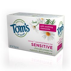 Tom S Of Maine Natural Beauty Bar Fragrance Free Sensitive