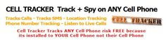 http://www.cell-tracker.info/    Cell Tracker    Cell Tracker spy software for mobile phones allows you to monitor, track, and spy on ANY cell phone in the world. Cell Tracker installs to your mobile not theirs.    cell tracker, cell phone tracker, cell phone tracking