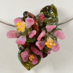 "The Lampwork ""Apple Blossom"" Giveaway Bead!"