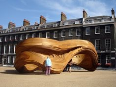 driftwood by charles walker (a former colleague of mine at zaha) and his students at the aa london
