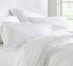 Belgian Flax Linen Quilt Cover & Pillowcases