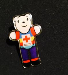 Australian Red Cross (date unknown) Red Cross, Pin Collection, North America, Pop Culture, Africa