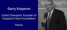 """""""Chess can be a student's driving force, helping in every aspect of critical thinking development"""" – Garry Kasparov – Russia   daily edventures"""