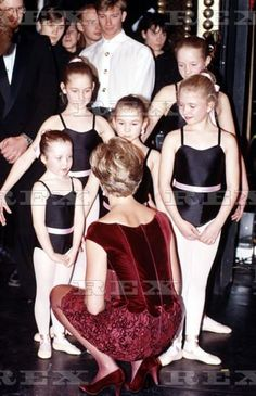 Princess Diana was so good at connecting with children.