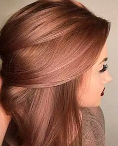 Imagen de hair and rose gold