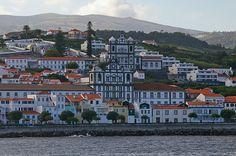 Cidade de Horta, Ilha do Fayal, Arquipélago dos Açores, Portugal.