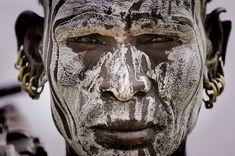 Mursi Man, Ethiopia
