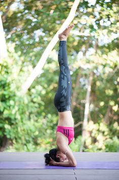 Yoga : headstand