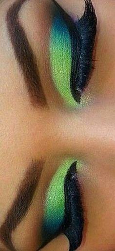 Possible Club Look #Makeup • Eye Makeup for Brown Skin • Makeup for Black Women