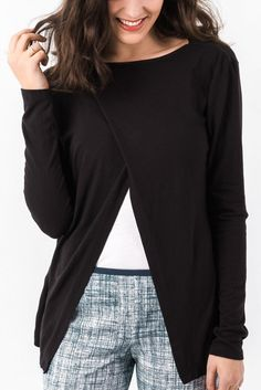 UPF Long sleeved T $79 - Dress up your style with a UPF Long sleeved T-shirt #UPF #sunsmart