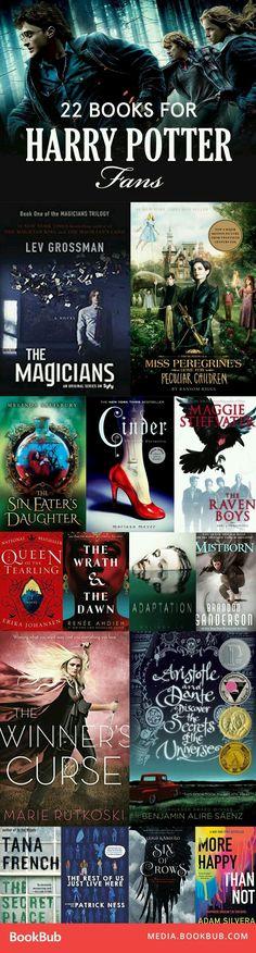 22 Books for Harry Potter Fans