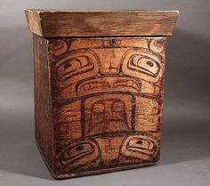 Tlingit bentwood box
