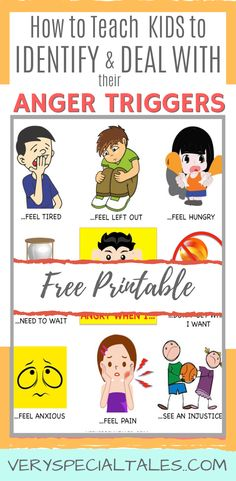 ANGER TRIGGERS IN KIDS (printable): Teaching kids how to identify anger triggers is an important step in your anger management strategy as you will be able to: a) avoid some anger-triggering situation, or b) help your kids take action by utilizing their coping strategies #angermanagementforkids #angertriggers #copingskills #parenting #emotionalregulation #behaviormanagement #autismclassroom #selfregulationinkids #emotionallearning #printable #toddlertantrums Calming Activities, Health Activities, Children Activities, Parenting Books, Gentle Parenting, Parenting Tips, Peaceful Parenting, Anger In Children, Anger Management For Kids