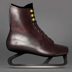 e5b3f5c0c Jacknife designs leather ice skates based on vintage Canadian designs  Innovation Design