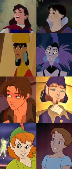 Genderbent Disney...... O_O okay the fem!version of the guy from Treasure Planet seriously looks like Levi Ackerman