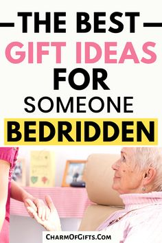 The most useful gift ideas for someone who is bedridden at the moment or permanently bedridden. Great for bedridden elderly who has limited mobility.