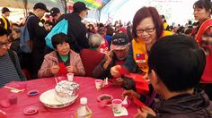 District 300G2 #LionsClubs (Taiwan) hosted a special meal and distributed gifts to people in need