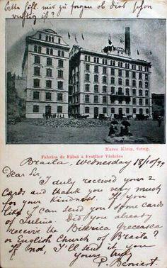 Moara de Faina a Fratilor Violatos - 18.10.1899 - foto Marco Klein Bucharest, Romania, Travel, Places To Visit, Cards, Viajes, Destinations, Traveling, Trips