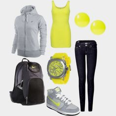 7. Outfit that describes me: the outfit describes me to a T. I'm a very sporty person so I love wearing athletic outfits.