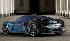 Didn't McLaren already have a futuristic looking hybrid machine called simply the P1? Why yes, it did, but that didn't stop design students from making another one under the somehwat odd IED Syrma name.
