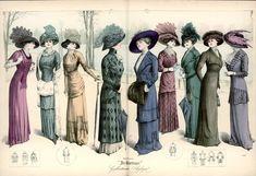 Fashion Plate - De Gracieuse, 1909