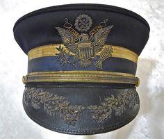 WWI U.S. M1902 Massachusetts General Officer Cap