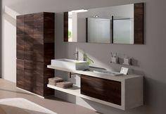 Mobile bagno sospeso design moderno n. 35