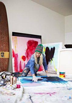 Prudence Caroline - Myne - creating Art