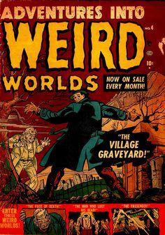 Adventures Into Weird Worlds #4