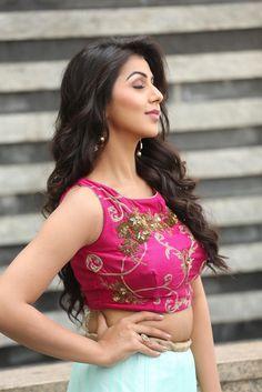 Nikki Galrani Latest Hot Photoshoot In Pink Dress ★ Desipixer  ★