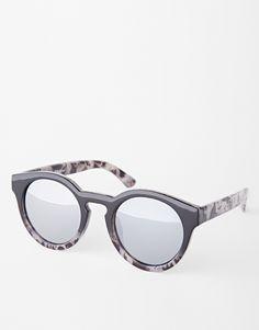 AJ Morgan Hmmm Round Ombre Sunglasses