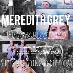 Grey's Anatomy || Meredith Grey