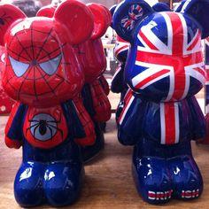 Bearbrick heroes #omervarol #oemervarol