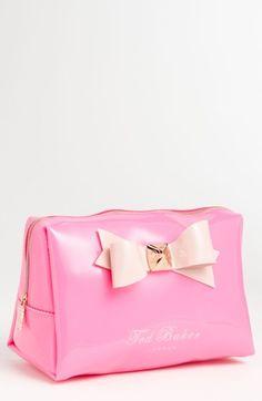 Ted Baker London Large Bow Cosmetics Bag. So precious!