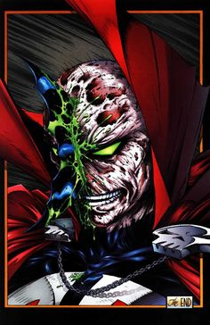 Batman vs. Spawn by Todd McFarlane and Steve Oliff