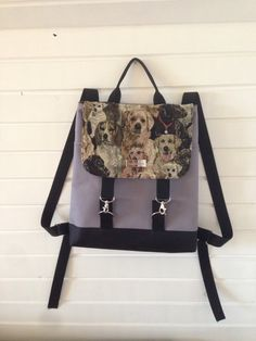 Zsurigoworks hande made bag. #dog