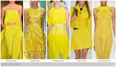 Fashion Snoops SS15 Sun Yellow Key Color