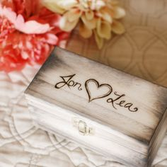 Shabby Chic Keepsake Nesting Ring Boxes. These quaint little boxes are a darling touch to any rustic or woodland event. Use them as ring boxes for your ring bearer or even just after the wedding to hold special keepsakes.